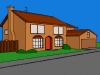 Simpsons House 3D